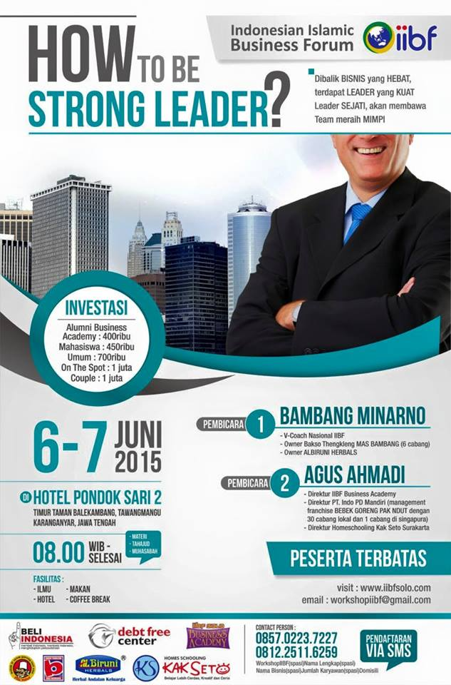 Workshop_IIBF_2015_How_to_be_Strong_Leader